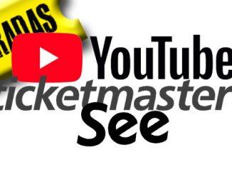 youtube venta de entradas