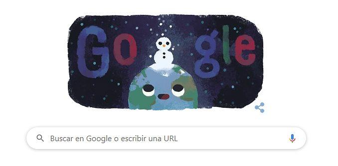 google doodle invierno 2019