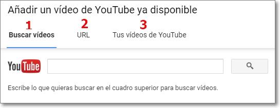 Añadir vídeo comunidad youtube