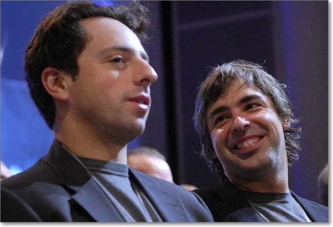 Serge Brin y Larry Page
