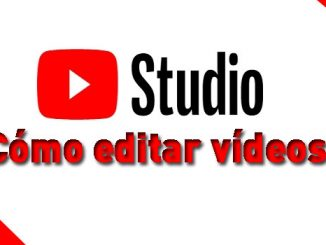 como editar videos con youtube studio