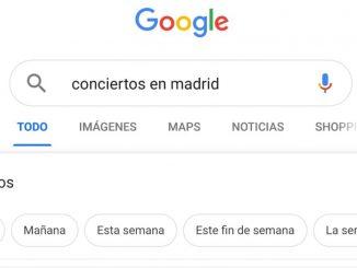 eventos en google