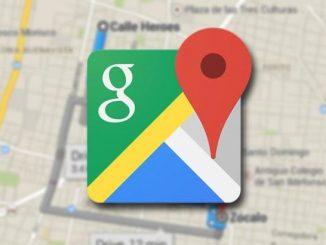 calles iluminadas con google maps