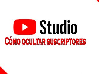 cómo ocultar suscriptores en Youtube