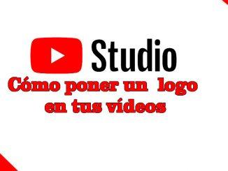 como poner branding logo en youtube studio