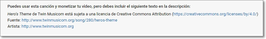Creative Commons atribución