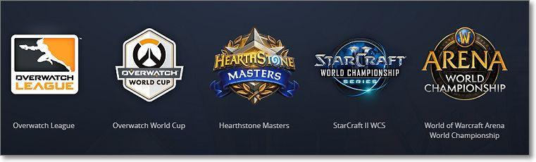 Ligas por Youtube Gaming de Blizzard entertaiment