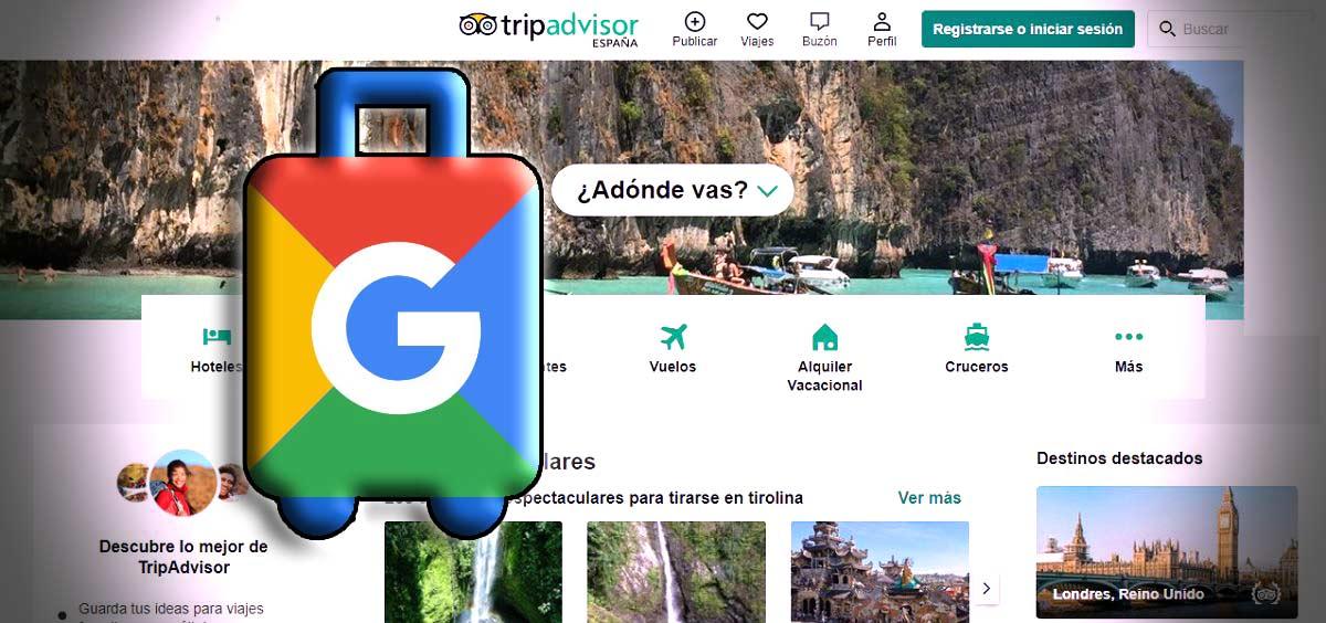 trypadvisor despide a 200 por competencia de google