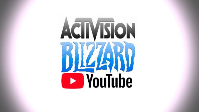 acuerdo youtube activision blizzard