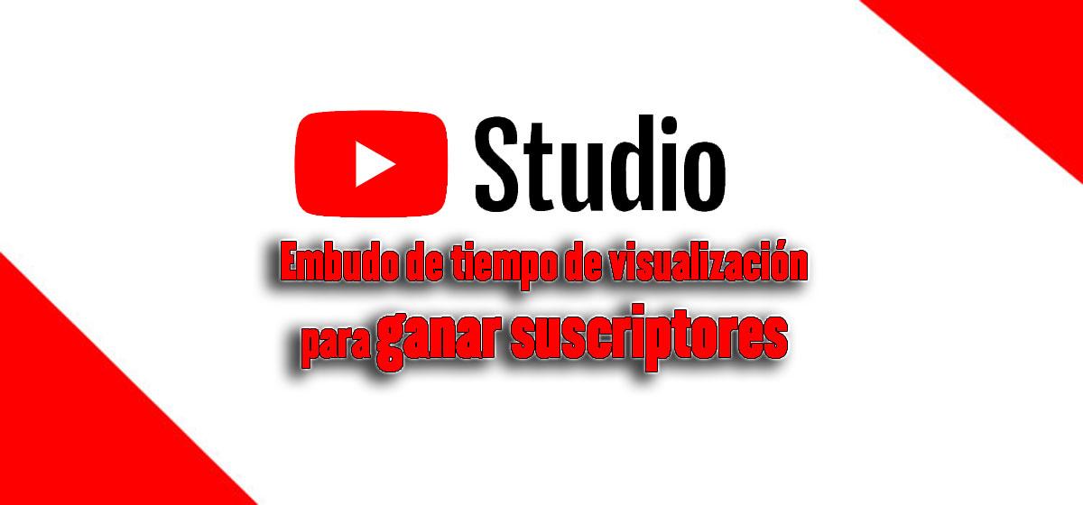 embudo de tiempo de visualización en Youtube