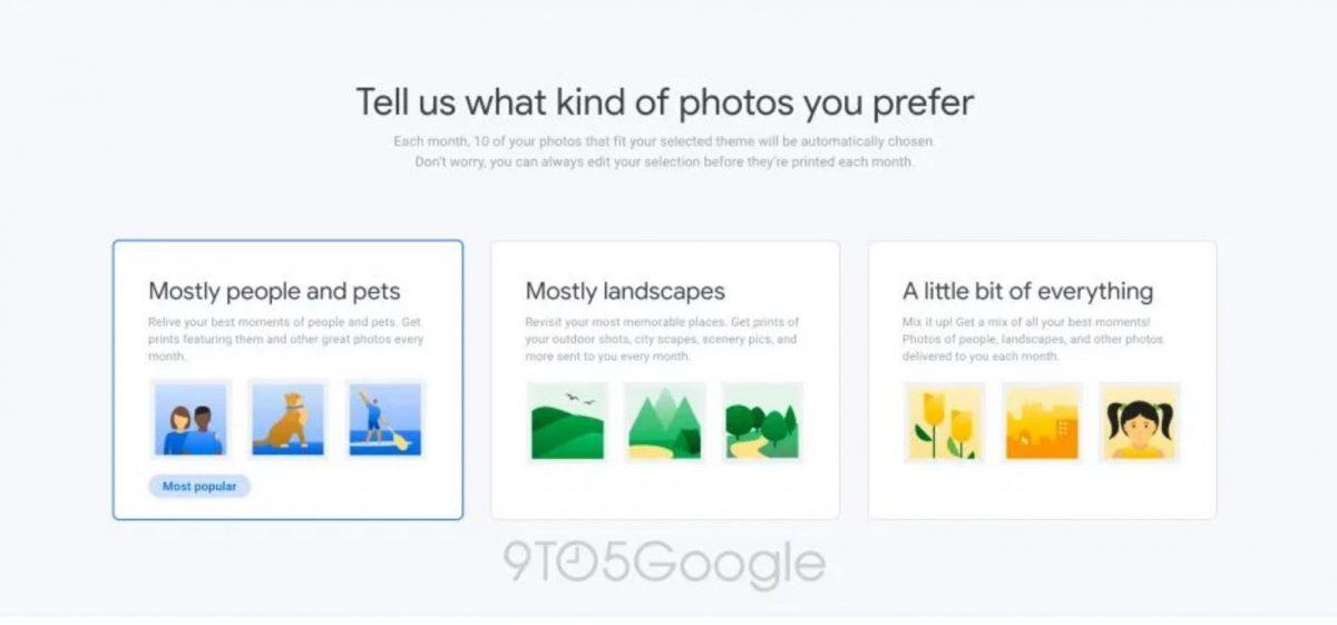 Imprimiendo con Google fotos