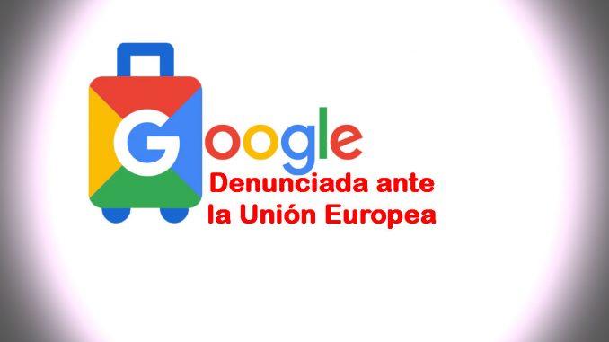 denuncia a google por OTAs