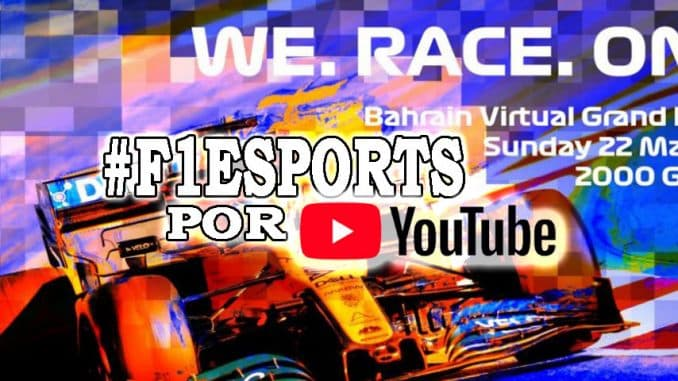 gran premio bahrein formula 1 por youtube
