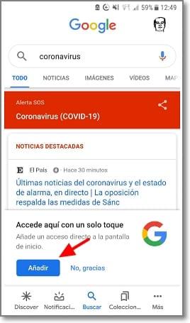 Alerta SOS en Smartphone