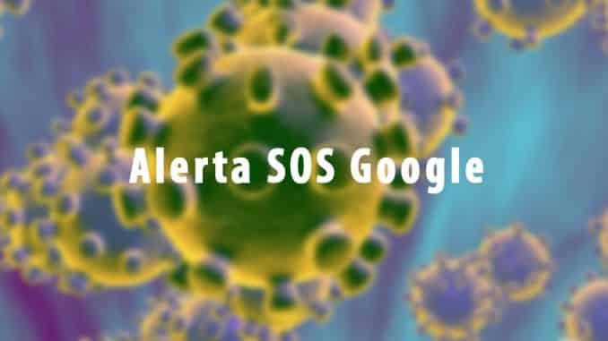 alerta sos de google