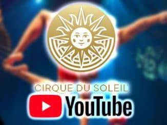 circo del sol por youtube