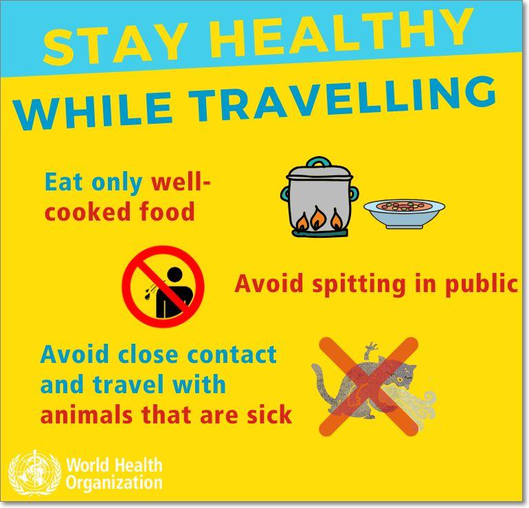 Consejos evitar coronavirus en viajes