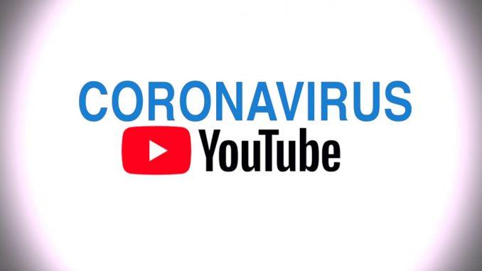 coronavirus google youtube
