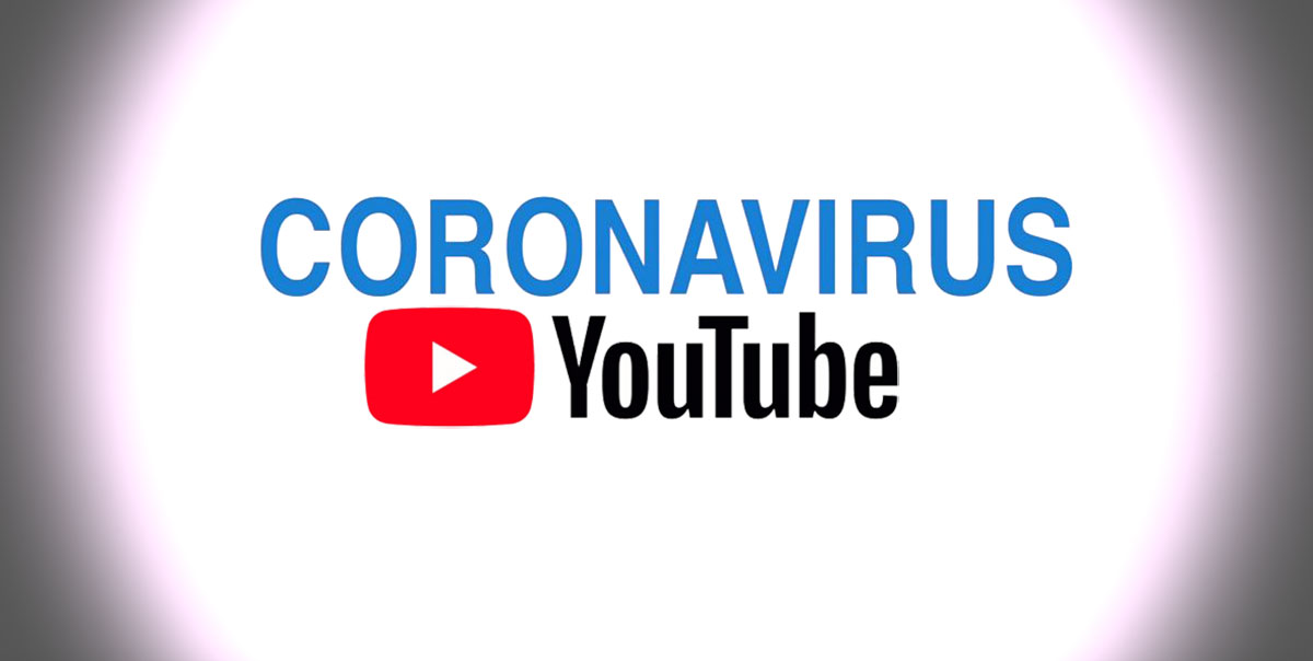 coronavirus google youtube