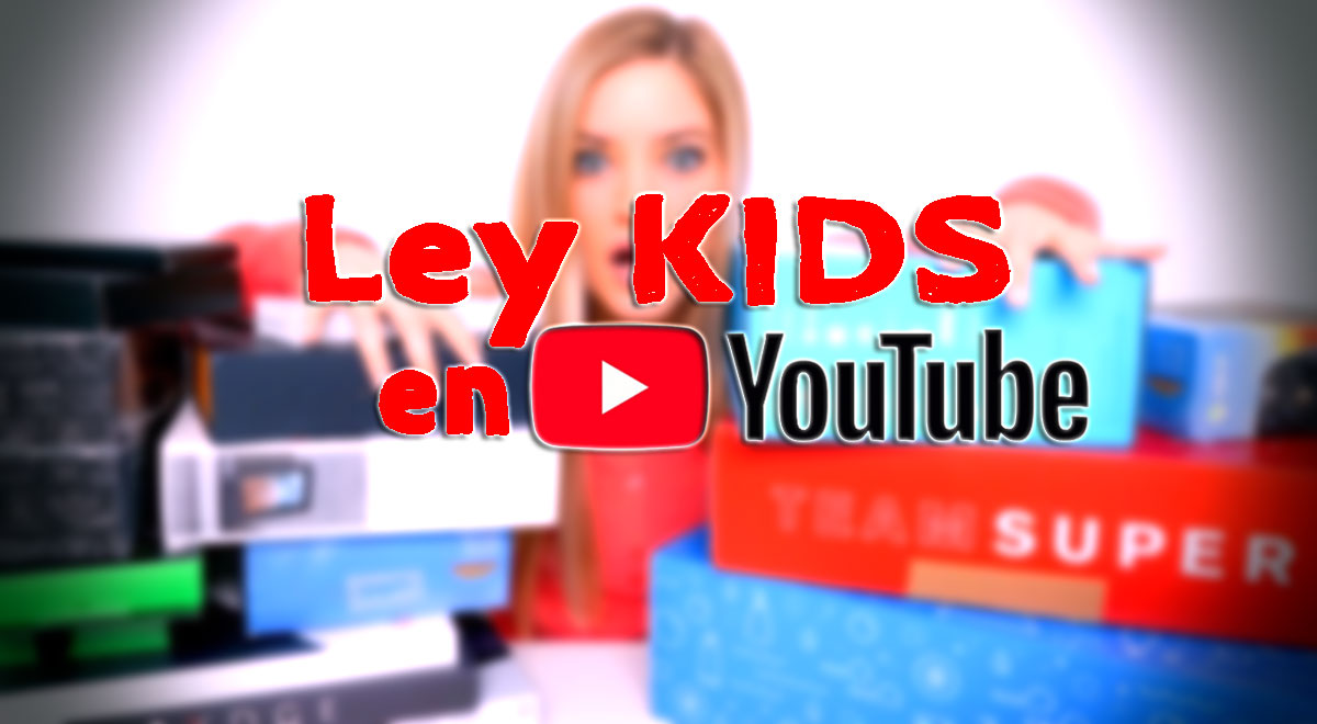 ley KIDS en Youtube