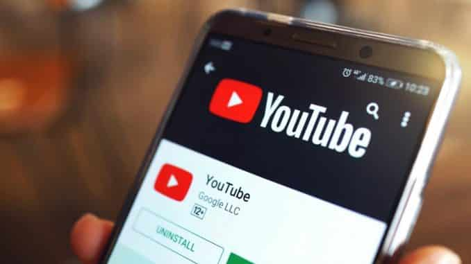 pestaña explorar youtube