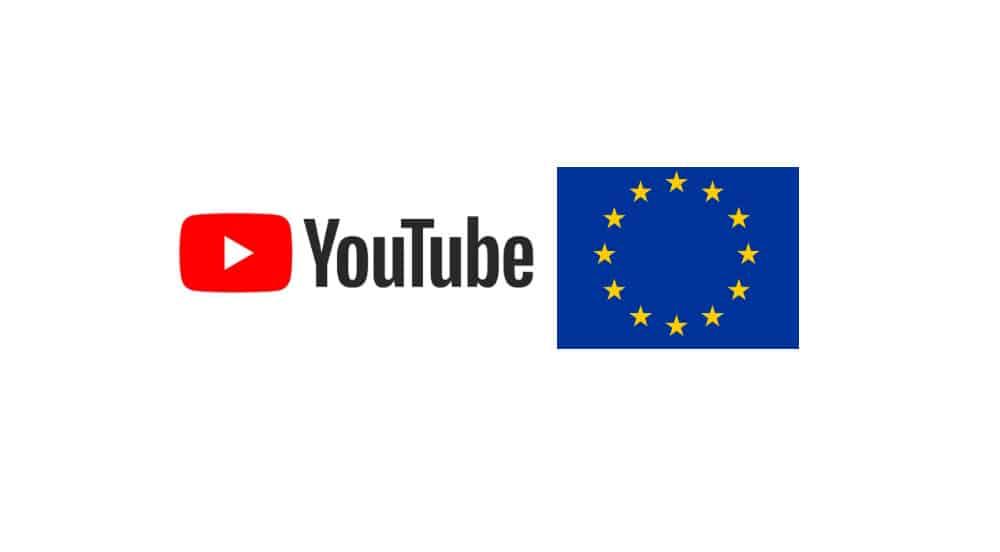 union europea y youtube