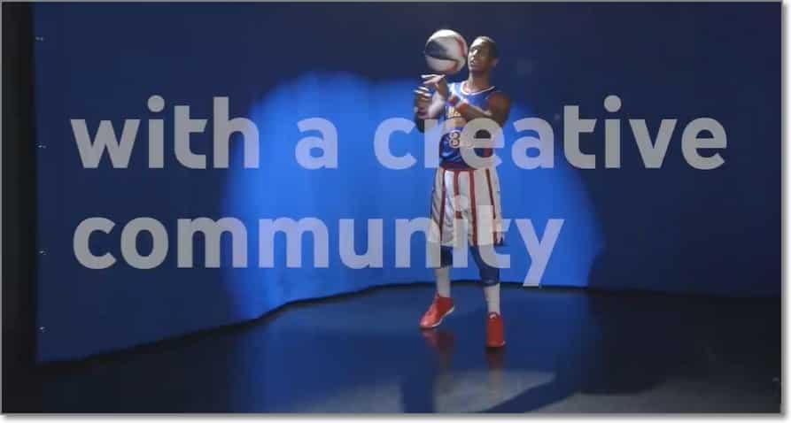 Comunidad creativa en youtube space