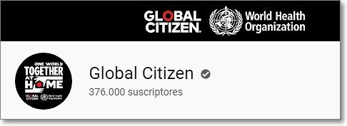 Canal youtube global citizen