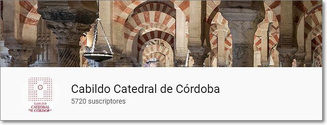 canal de Youtube del Cabildo de Córdoba