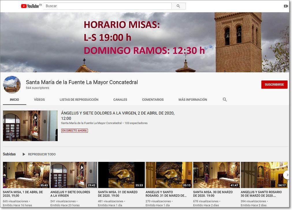 Canal youtube concatedral de guadalajara