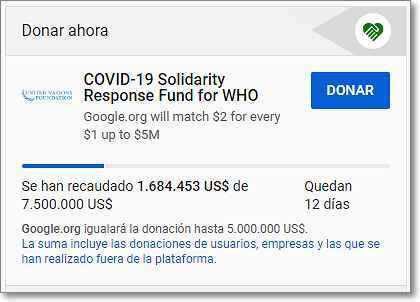 """Botón """"Donar"""" en Youtube"""