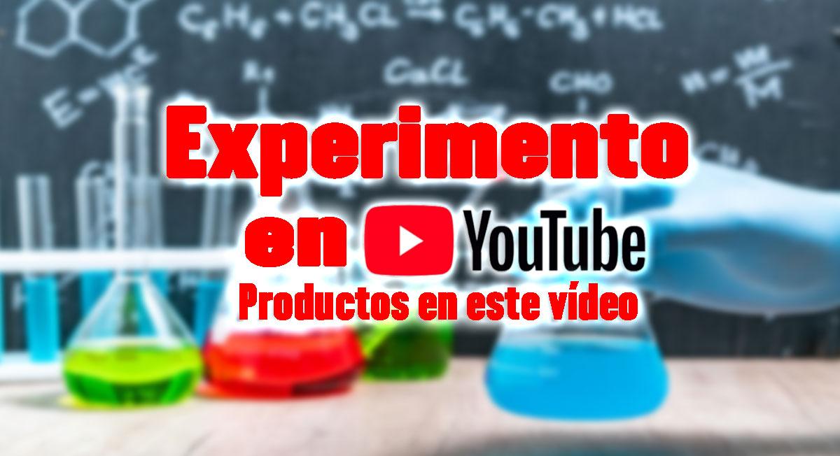 experimento en youtube