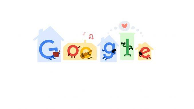 google dodle coronavirus en casa