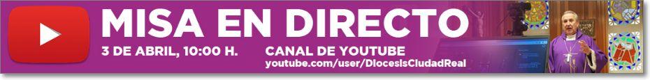 Canal Youtube diócesis ciudad real