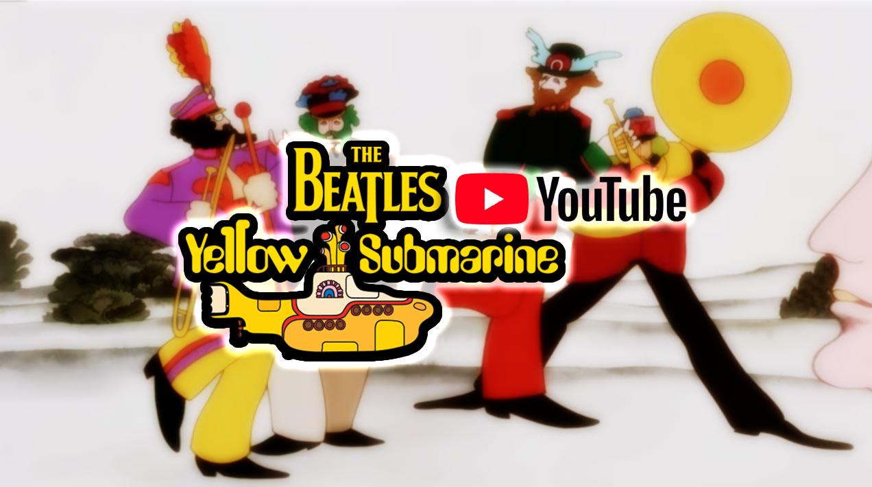 pelicula ywllow submarine por youtube