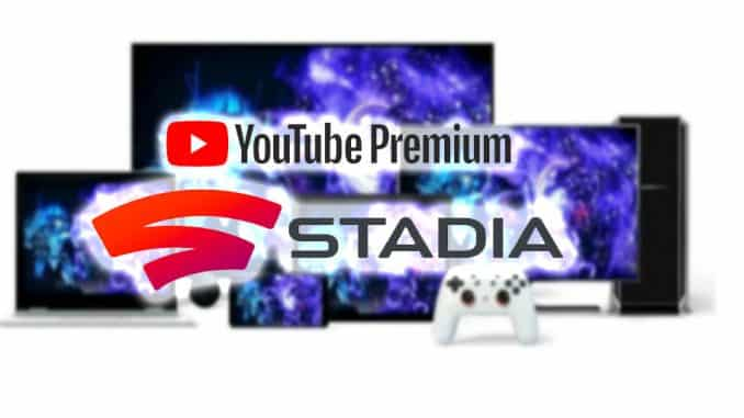 youtube preium gratis stadia 3 meses