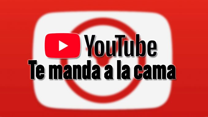 recordatorio ir a dormir con youtube