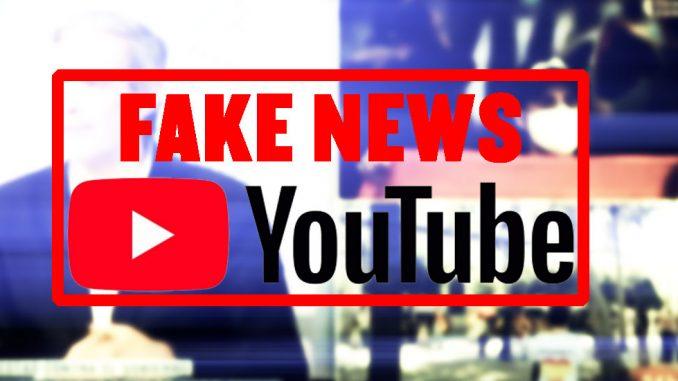 fake news en youtube