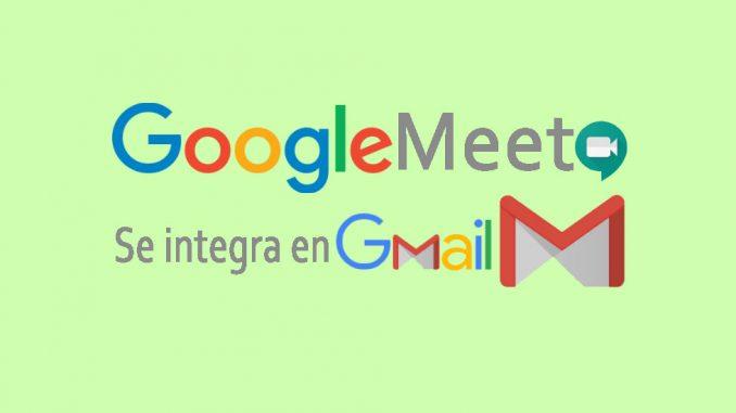 google meet en google gmail