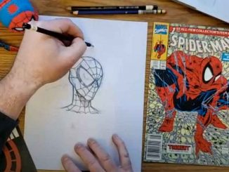 tutoriales dibujo marvel