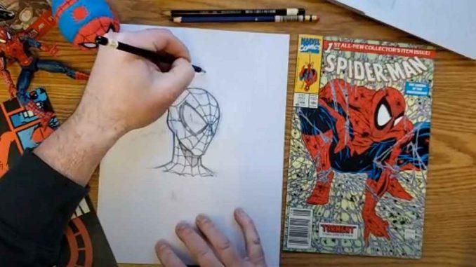 tutoriales dibujo marvel