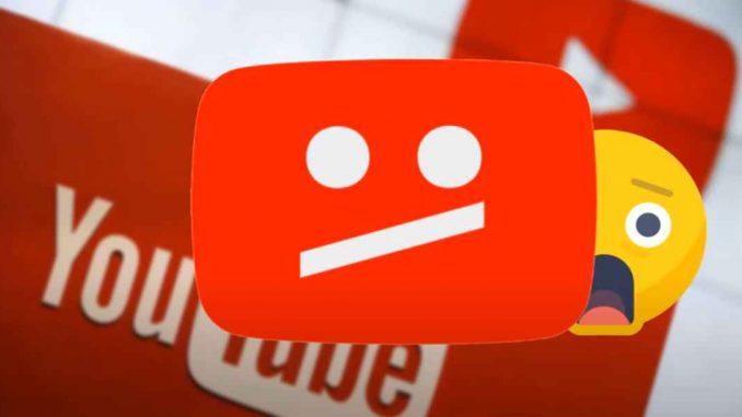 caida mundial de youtube