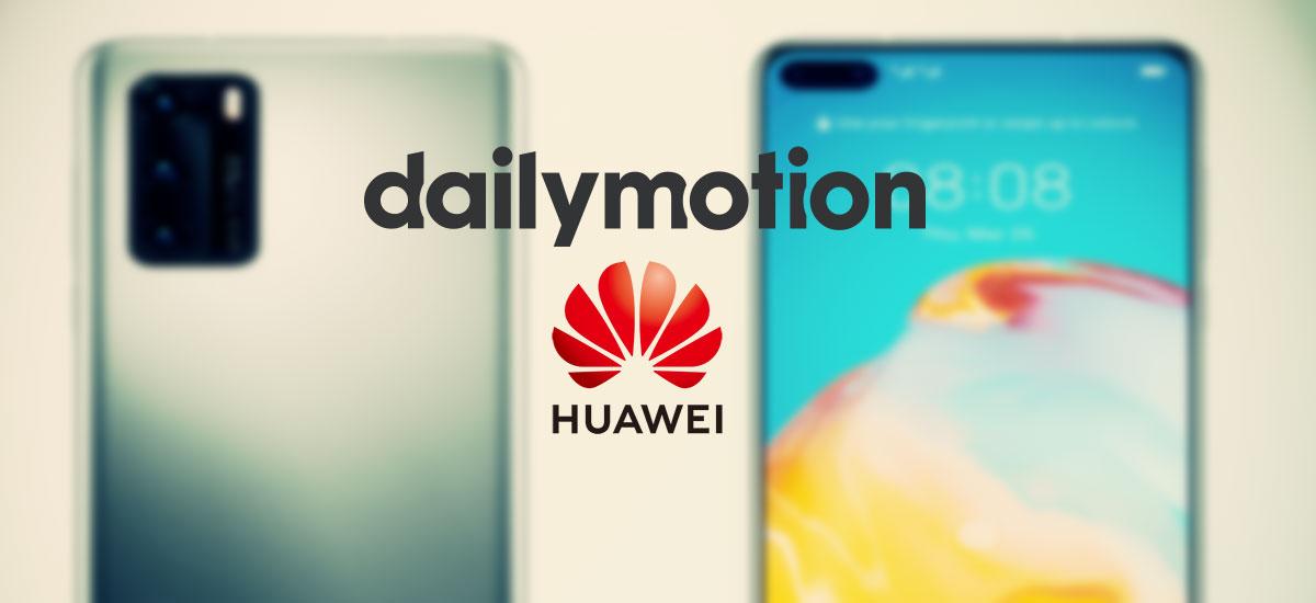 dailymotion en huawei