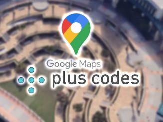plus codes en google maps