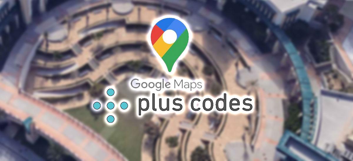 plus codes en google maps