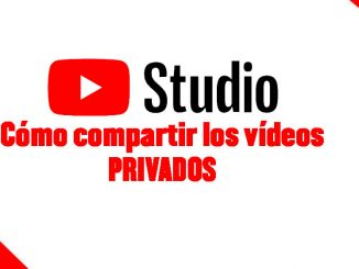 videos privados en youtube manera de compartir