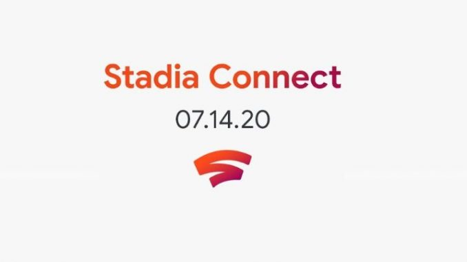 Google Stadia connect 07.14.20