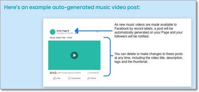 Editar videos musicales en facebook