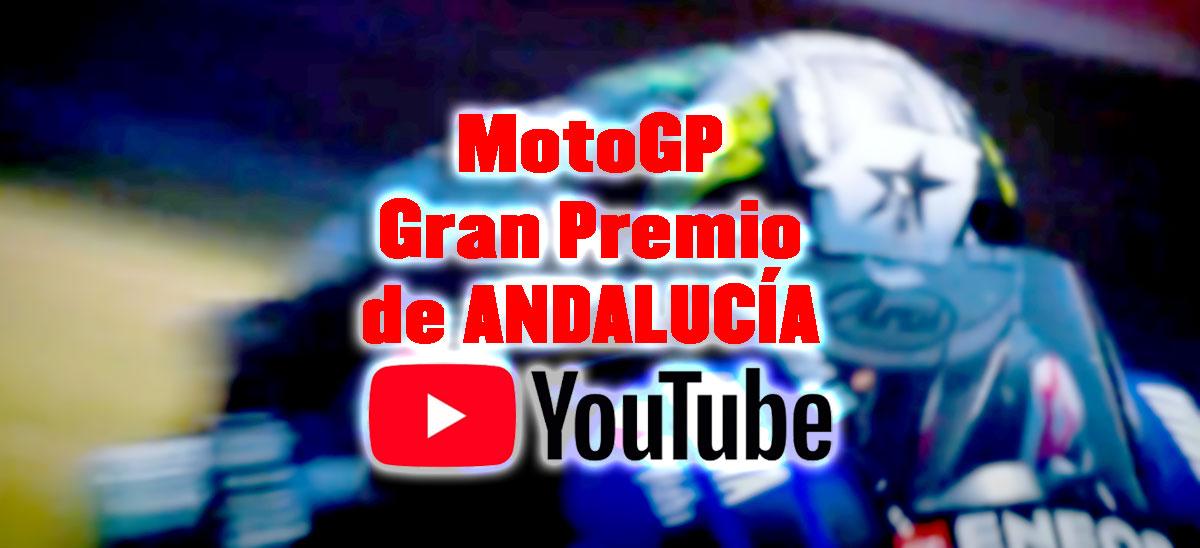carrera de moto gp por youtube