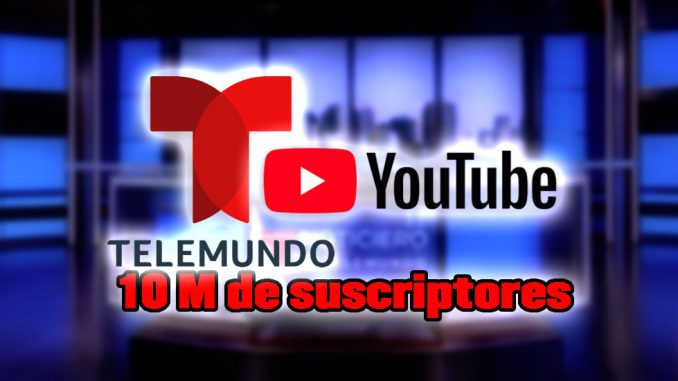 telemundo record youtube suscriptores